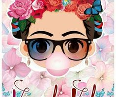 Uploaded by AnbarinK. Find images and videos about heart, wallpaper and background on We Heart It - the app to get lost in what you love. Diego Rivera, Frida Kahlo Cartoon, Decoupage, Frida Art, Mexican Party, Cute Wallpapers, Iphone Wallpaper, Wallpaper Backgrounds, Cool Art