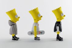 Art & Design • September, 3 201413 Bart Simpson in Supreme, Rick Owens and Givenchy by Simeon Georgiev