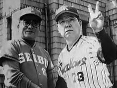 Masaaki Mori (Seibu Lions) and Katsuya Nomura (Yakult Swallows)
