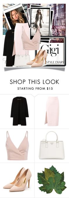 """dhftj"" by horan-69 on Polyvore featuring мода, Burberry, MSGM, Prada и Rupert Sanderson"