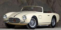 MASERATI-150-GT-Spider-1957 VOITURE ANCIENNE // OLD CAR / PHOTOS LES PLUS BELLES DE MASERATI ANCIENNES // VOITURE VINTAGE #vintagecars