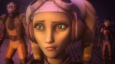 The pain and horror on Hera, Sabine, and Zeb's faces when they see that Kanan was blinded.