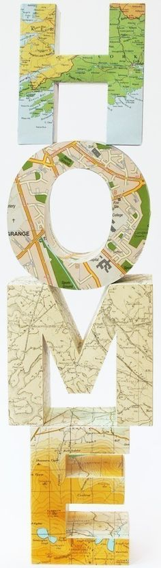 """so, do this, make sure where you live in on a letter, and then put a heart on it. """"Home is where the heart is"""""""