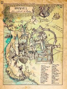 So sah Percys Karte vermutlich nicht aus.