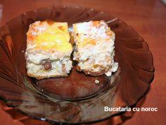Placinta cu branza dulce si stafide - Bucataria cu noroc