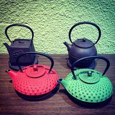 """Tetsubin teapots #theoliveandvine"""