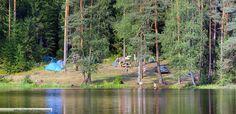 Провести свой отпуск в палаточном лагере на Волге