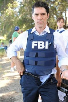 Hello there . . . Thomas Gibson (Aaron Hotchner, Criminal Minds)