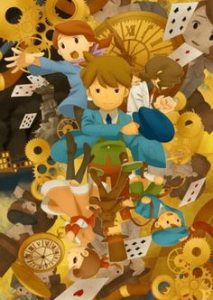 Professor Layton ,Unwound Future, Clive is awesome! Did you know his voice actor also plays Randall in the miracle mask!?
