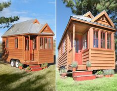 Small Houses On Wheels + interiors | building permit because its on wheels watch the video tours to get ...