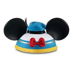 Je veux cette kippa !!! Best of Mickey Donald Duck Ear Hat | Ear Hats | Disney Store - via http://bit.ly/epinner