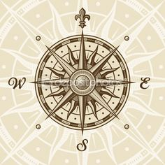 Compass-this would actually make a beautiful tattoo