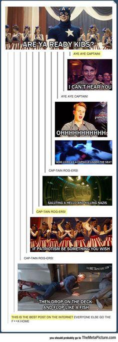 30 Funny Captain America Memes - Marvel Fan Arts and Memes Marvel Jokes, Funny Marvel Memes, Dc Memes, Avengers Memes, The Avengers, Memes Humor, Funny Memes, Hilarious, Funny Videos