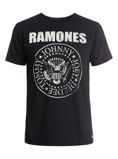 Ramones Band - T-shirt EQYZT03575 | Quiksilver