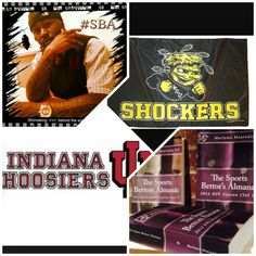 """3/20/15 NCAAB #MarchMadness : #Indiana #Hoosiers vs #WichitaSt #Shockers (Take: Indiana +5.5,Under 138.5) (THIS IS NOT A SPECIAL PICK ) """"The Sports Bettors Almanac"""" SPORTS BETTING ADVICE  On  95% of regular season games ATS including Over/Under   1.) """"The Sports Bettors Almanac"""" available at www.Amazon.com  2.) Check for updates   My Sports Betting System Is an Analytical Based Formula   """"The Ratio of Luck""""  R-P+H ±Y(2)÷PF(1.618)×U(3.14) = Ratio Of Luck  Marlawn Heavenly VII (…"""