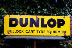 Old Large Dunlop Bullock Cart Antique by InterestinOldUnusual