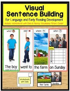 Special Education Visual Sentence Building for Early Readers CLASSROOM PROVEN EFFECTIVENESS! I love to read and I want my students to love it, too. Since I have students with varying cognitive levels, I knew from experience that I had to create a reading motivator, something to get those non-readers on their way to loving reading, too.