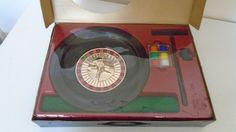 Roulette Casino Game - Roulette Wheel - Party NIght - Boxed   Free UK Postage