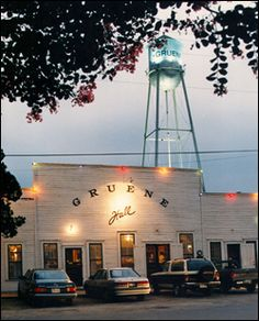 Gruene Hall....one of the oldest Dance Hall's in TEXAS !