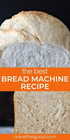 Bread Maker White Bread Recipe, Bread Machine Bread, White Bread Machine Recipes, Easy White Bread Recipe, Bread Maker Recipes, Sandwich Bread Recipes, Best Bread Recipe, Cooking Ideas, Cooking Recipes