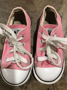9b4ae56f1425bd Baby Shoes · Converse All-Star Toddler Sz 8 Pink Lo- Top Sneakers  fashion   clothing