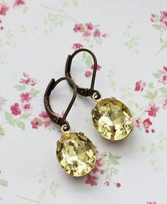 Vintage Jonquil Earrings