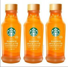 Bottled Starbucks Pumpkin Spice Latte Coming Later This Month - Snack Gator Espresso Drinks, Coffee Drinks, Coffee Cups, Starbucks Specials, Starbucks Bottles, Starbucks Pumpkin Spice Latte, Breakfast On The Go, Coffee Bottle, Beverages