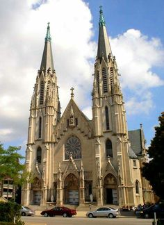 Catholic Church of St Mary of Immaculate Conception Archdiocese of Indianapolis IN. USA