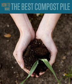 Join in on the most simple, cost effective, and eco-friendly contribution we can give back to mother nature: Composting! Learn how to make the best compost pile here.  http://diyready.com/make-compost-diy-composting/  #homemade #diy compost bin