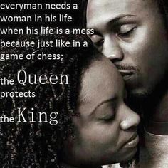 I most deff protect my King. #QUEENK