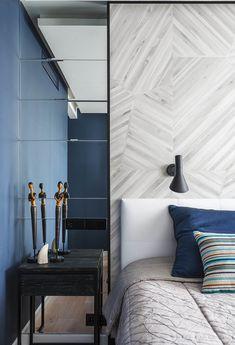 37 Ideas For Master Bedroom Lighting Modern Mirror Contemporary Interior Design, Contemporary Bedroom, Modern Bedroom, Master Bedroom, Modern Design, Modern Decor, Mirror Bedroom, Bedroom Lamps, Bedroom Wall