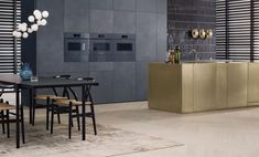 The Miele ArtLine offers fitted design kitchens with and SoftOpen Technology! The handless Design-Line from Miele Germany. Traditional Decor, Traditional House, Handleless Kitchen, Kitchen New York, Brown Kitchens, Modern Kitchens, Best Kitchen Designs, Kitchen Ideas, Contemporary Kitchen Design