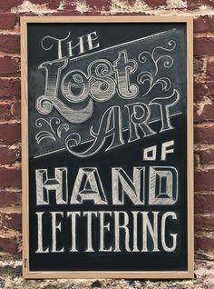 Handwritten Lettering - By Chris Yoon