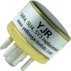 Yellow Jacket Solid State Tube Rectifier by Yellow Jackets Tube Converters. $14.95. This model of Yellow Jackets® converter, the YJR, is an adapter for use in most amplifiers which use 5AR4, 5U4, or 5Y3 tubes or other similar tubes. This Yellow Jacket® is a solid state device and as such does not come with vacuum tubes.* Converts most audio amplifiers which use a vacuum tube rectifier 5AR4, 5U4 or 5Y3 to a solid state device.* One year limited warranty on conver...