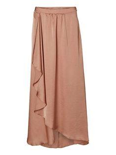 Caprisina Long Skirt in Sandstorm - Vero Moda