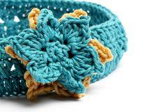 Sayde headband Free crochet pattern and tutorial