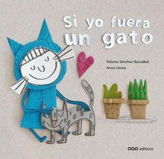 """–""""¿Qué pasaría si fueras un gato?  Si yo fuera un gato…""""   La respuesta a la pregunta con la que da comienzo el relato de Paloma Sánchez Ibarzábal abre un abanico de divertidas posibilidades que dan origen a este gracioso álbum"""
