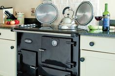 Electric cooker with minimal energy waste. This is electric which I want and looks fabulous!