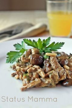 Straccetti di carne con olive taggiasche pinoli e pomodori secchi ricetta cucinare secondo di carne Statusmamma blogGz Giallozafferano foto tutorial semplice veloce economico