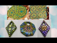 Clay Tutorials, Canes, Polymer Clay, Powder, Youtube, Accessories, Ideas, Fimo, Face Powder