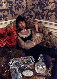 Margaret Zhang for Grazia Australia - Gucci Fall 2016