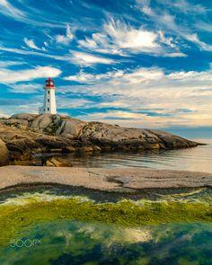 ***Peggy's Cove Lighthouse (Nova Scotia) by Ryan Stefan on 500px