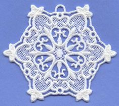 Stitch a snowflake for the children of Sandy Hook