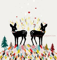 forest hearts by art & ghosts x