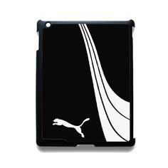 Puma Black White TATUM-8972 Apple Phonecase Cover For Ipad 2/3/4, Ipad Mini 2/3/4, Ipad Air, Ipad Air 2