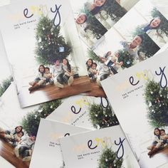 Send your loved ones a special holiday greeting card from Minted. Image courtesy of Jami Nato