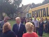 Vice President Joe Biden and EDA Assistant Secretary Jay Williams walk through…