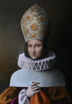 """Monnalisa Papessa Metamorphosis"" by Antonio Sciacca"