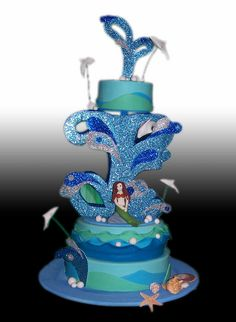 Under the Sea Cake by Gio's Cakes, via Flickr