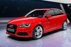 Audi A3 Sportback red and black beauty